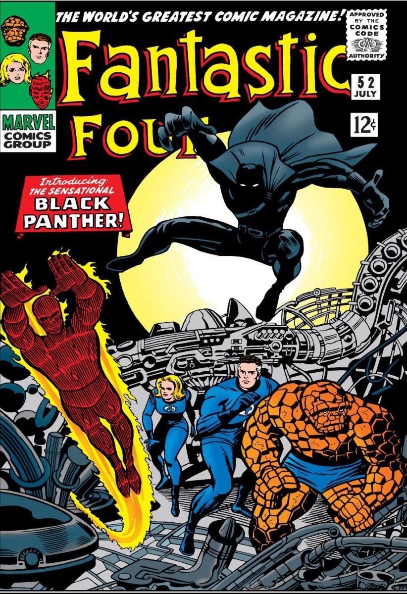 Surge o Pantera Negra!